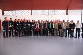 En funcionamiento el nuevo parque de bomberos de Cazalla tras una inversión de 200.000 euros
