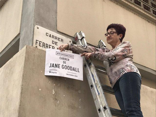 La iniciativa 'Women in Cities' cambia el nombre de 12 calles