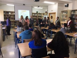 Alumnado del IES de Los Villares (Jaén) se forman en igualdad y prevención de violencia de género
