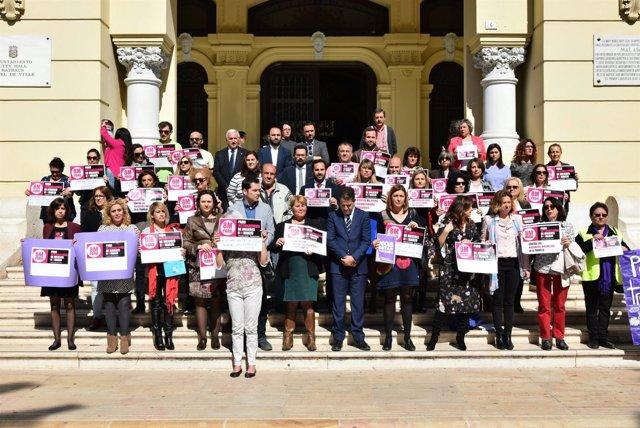 María del Carmen Moreno en el Día dela Mujer
