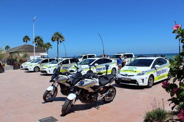 Vehículos Estepona Policía