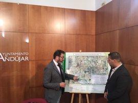La Junta publica la licitación de las obras del carril bici de Andújar (Jaén) con un presupuesto de 750.000 euros