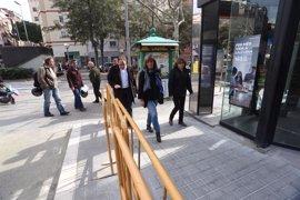 L'Hospitalet de Llobregat reurbaniza la zona sur de la plaza de La Bòbila