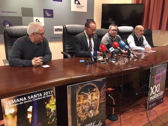Soria: Rey presenta los carteles de las tres S. Santa