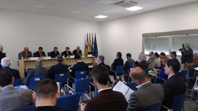 Presentanción en Linares (Jaén) de Huelvaport y las rutas del Puerto de Huelva.