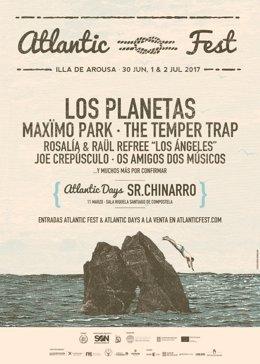 Nueva confirmación del 'Atlantic Fest'