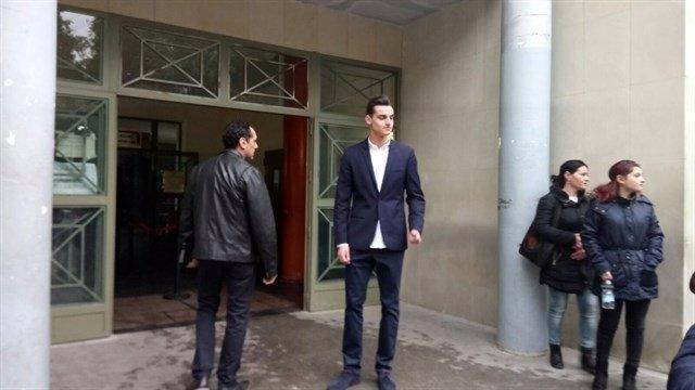El Youtuber MrGranBomba antes de empezar el juicio