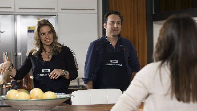 Íker Jiménez y su mujer/Telecinco