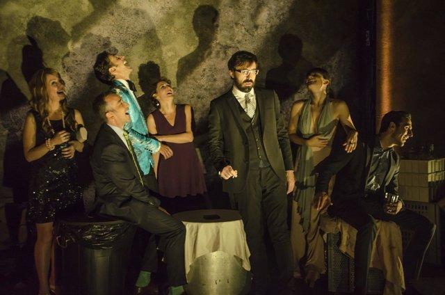 Escena de 'Misántropo', adaptación del texto de Moliere por Miguel del Arco
