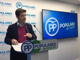 PP pedirá a Junta 150 millones para la Huelva-Cádiz, la autovía de la Cuenca Minera y conexiones con las playas