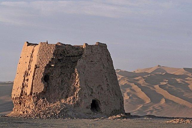 Torre de vigilancia de la Dinastía Han en la Ruta de la Seda