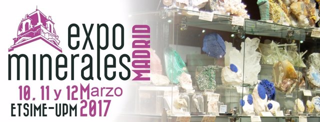 Expominerales Madrid 2017