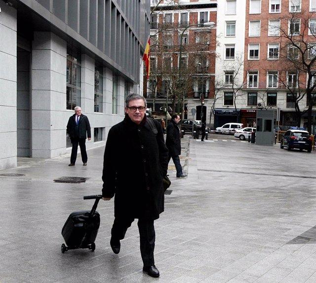 Jordi Pujol Ferrusola llega a la Audiencia Nacional