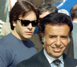 Un juez argentino ordena exhumar al hijo de Menem para investigar su muerte