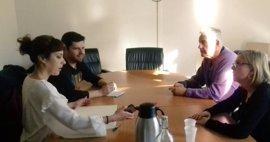 En Marea ratifica ante la plataforma de víctimas del Alvia su apoyo a una comisión parlamentaria y otra técnica