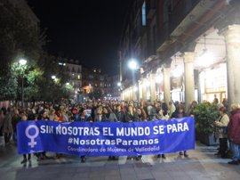 "CyL se echa a la calle para ""extender"" la ""lucha"" feminista"
