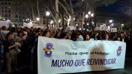 Andalucía reivindica en el Día de la Mujer la igualdad salarial y una ley contra la violencia de género integral