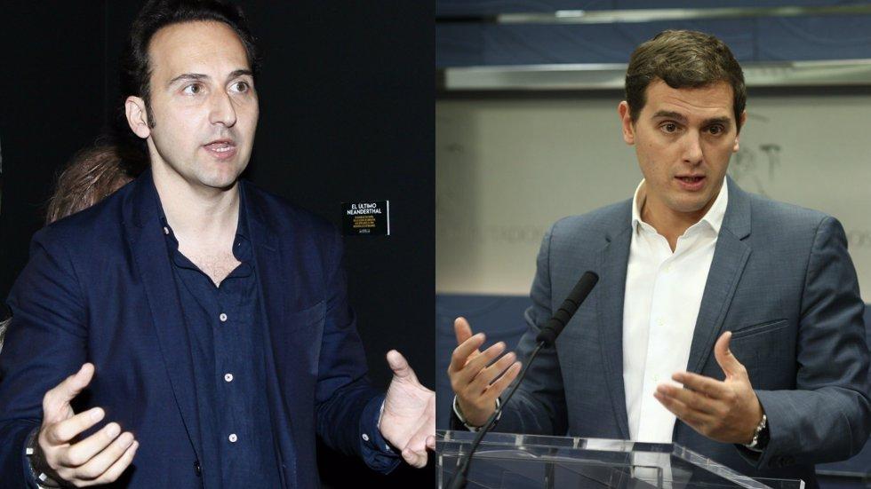 Íker Jiménez/Albert Rivera/EuropaPress