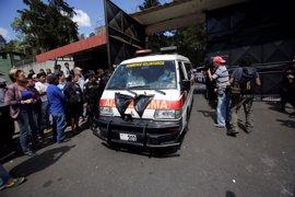 Guatemala decreta tres días de luto tras el incendio en un centro de menores que deja 20 muertos