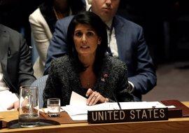 """La embajadora de EEUU en la ONU afirma que """"hay que sacar a Irán y sus representantes"""" de Siria"""