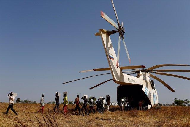 Ayuda humanitaria en Sudán del Sur