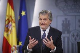 """Méndez de Vigo insiste en que la huelga educativa """"no se justifica en absoluto"""" y espera una repercusión escasa"""