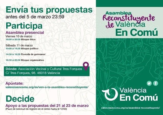 El foro se celebra en València el viernes por la tarde y el sábado