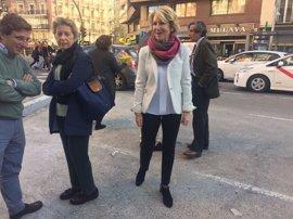 """Aguirre recuerda que ella no creó Fundescam y que la investigación del juez Velasco """"no es nada nuevo"""""""