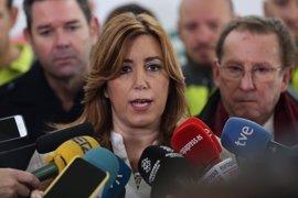 """Susana Díaz insiste en """"derogar ya"""" la Lomce ante la nueva protesta educativa"""
