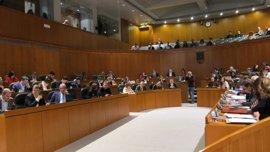 Las Cortes de Aragón aprueban el techo de gasto con los votos de PSOE y CHA