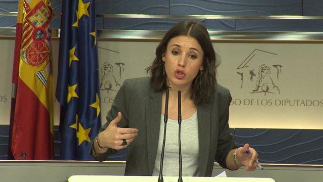 Montero niega las amenazas de Podemos a periodistas
