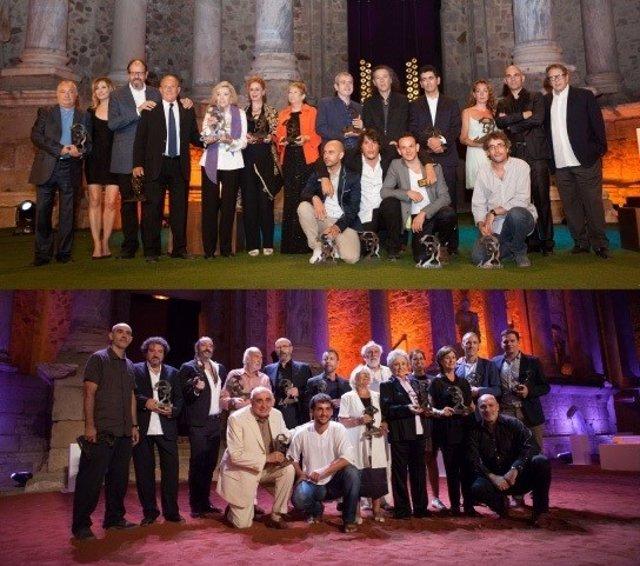 Premiados en los Ceres en las ediciones de 2012 y 2013