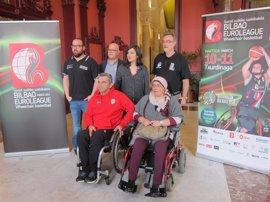 Bilbao acogerá el 10 y 11 de marzo la fase de grupos de la Euroliga de baloncesto en silla de ruedas