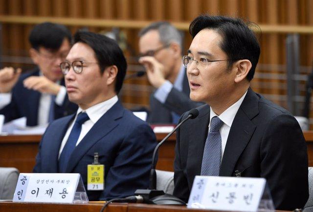 Vicepresidente de Samsung, Lee Jae Yong
