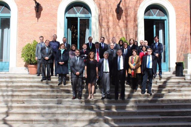 Reunión del Convenio de Albufeira, España y Portugal