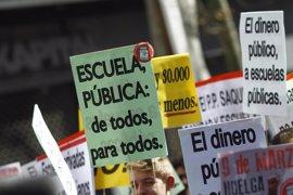 Educación cifra por debajo del 10% el seguimiento de la huelga por los docentes en centros públicos y concertados