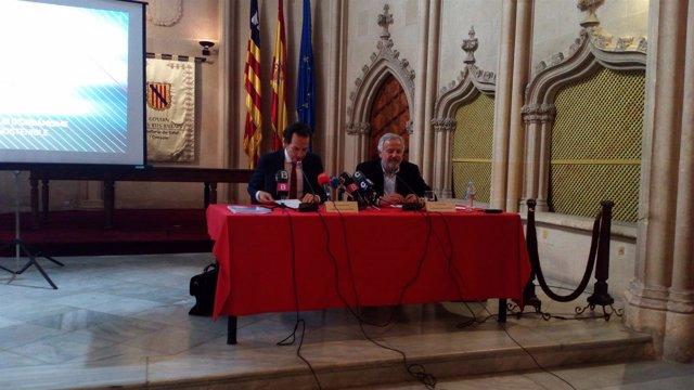 El conseller Pons presenta el anteproyecto de ley de urbanismo