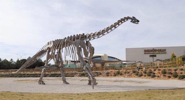 Esqueleto de turiasaurus riodevensis