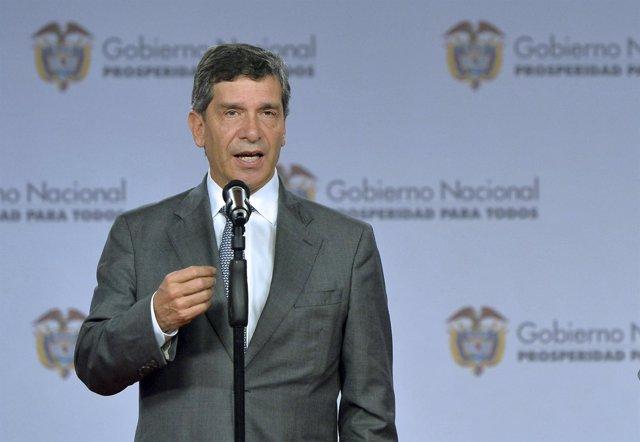 El alcalde interino de Bogotá, Rafael Pardo
