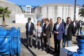 José Fiscal inaugura el nuevo ramal de Jerez, que abastecerá de agua a una población de 225.000 habitantes