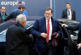 """Rajoy apuesta por reelección de Tusk porque """"Europa necesita estabilidad"""" y """"mayor integración"""""""