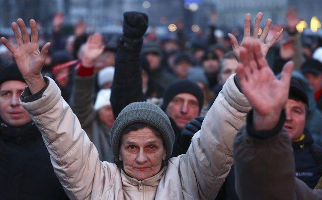 Protestas en Bielorrusia contra un polémico impuesto