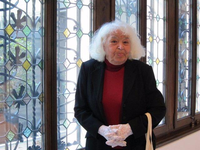La escritora, activista, médica y feminista egipcia Nawal el Saawadi