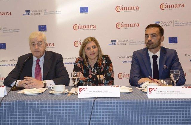 Irene García, presidenta de la Diputación Provincial de Cádiz