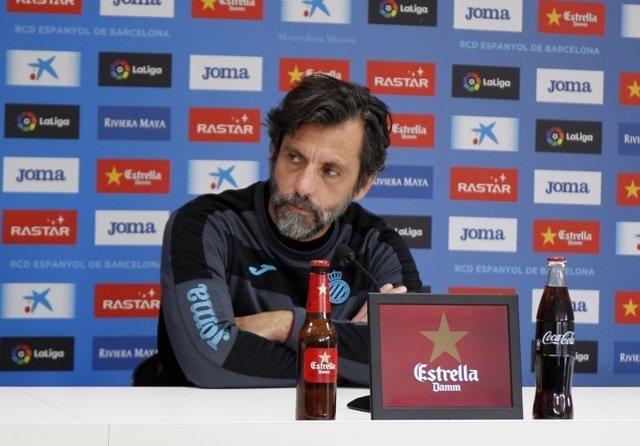 Quique Sánchez Flores, entrenador del RCD Espanyol