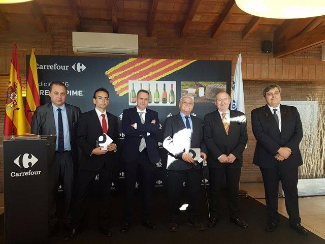Parxet y Betara reciben los Premios Carrefour