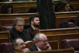 """Rufián espera a oír a Artur Mas, pero avisa que el independentismo es un """"rodillo"""" contra la corrupción"""