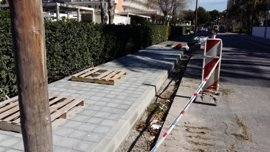 Cort realiza obras para mejorar el pavimento y la accesibilidad de la Playa de Palma por 17.000 euros