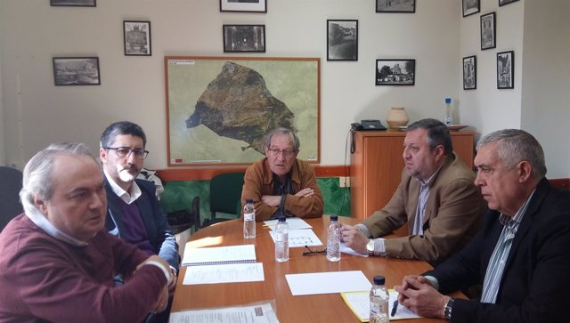 Comienza en Albalate del Arzobispo la ronda de visitas a municipios mineros.