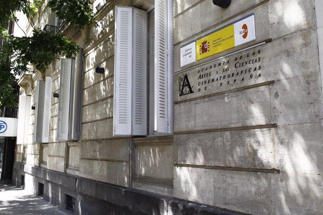 Academia de las Artes y las Ciencias Cinematográficas de España